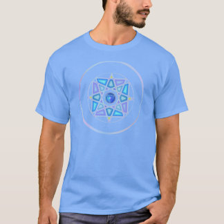 """One With Water"" Elemental Mandala T T-Shirt"
