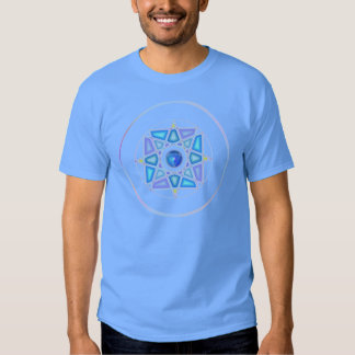 """One With Water"" Elemental Mandala T Tee Shirt"