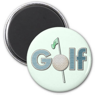 One Word: Golf Magnet