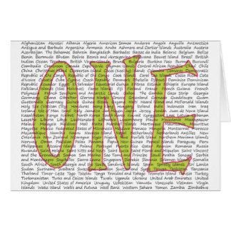 ONE WORLD CARD