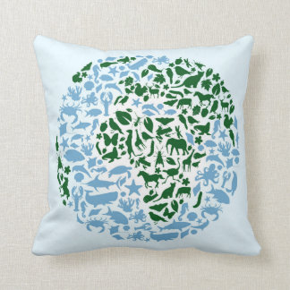 One World Eco Animals Cushion
