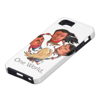 One World Global Community iPhone Case