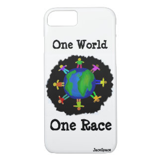 One World, One Race iPhone 8/7 Case