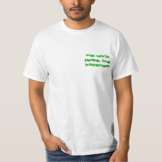 One world Peace, LoveHappiness T Shirts