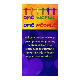 One World Photo Card