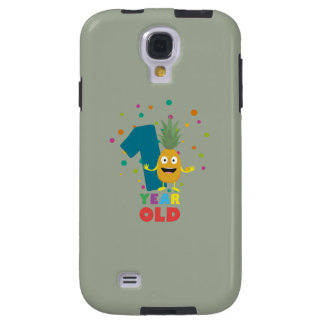 One Year old first Birthday Party Zpuo7 Galaxy S4 Case