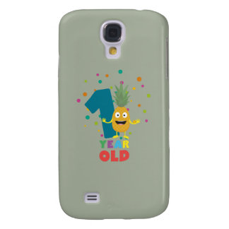 One Year old first Birthday Party Zpuo7 Galaxy S4 Cover