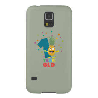 One Year old first Birthday Party Zpuo7 Galaxy S5 Cover