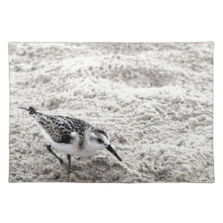 One Young Snowy Plover Bird Placemat