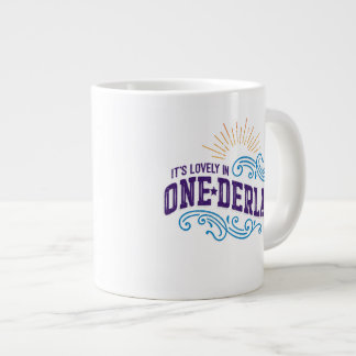 Onederland is Lovely Color Jumbo Mug