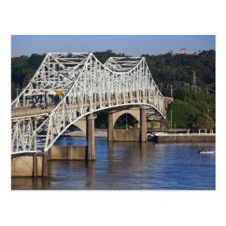 O'Neil Bridge on Tennessee River, Florence, Postcard