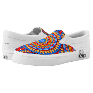 Oneness Tribe ~ Slip On Sneakers