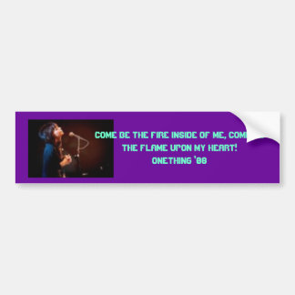 Onething Conference Bumper Sticker