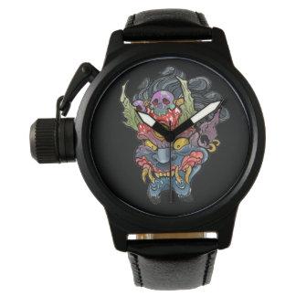 Oni Mask Wristwatches