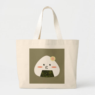 Onigiri Sushi Large Tote Bag