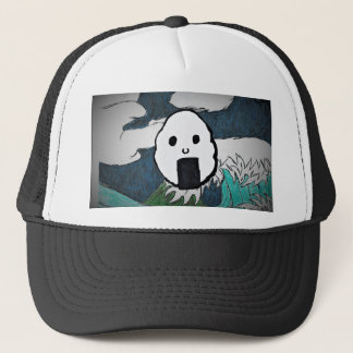 Onigiri-Wave Trucker Hat