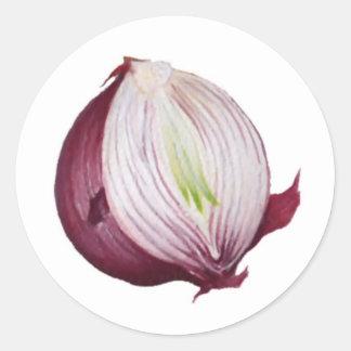 Onion Garden Label