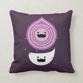 Onion Garlic Salt And Pepper Cushion