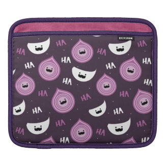 Onion Garlic Salt And Pepper iPad Sleeve