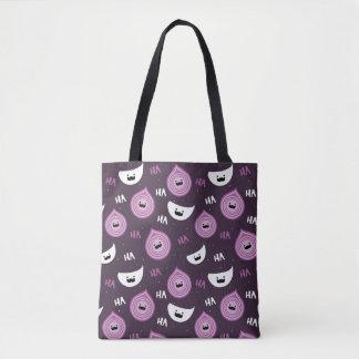 Onion Garlic Salt And Pepper Pattern Tote Bag