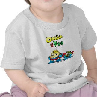 Onion Pea characters Baby t-shirt