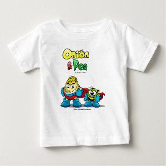 Onion & Pea characters Baby t-shirt. Shirt