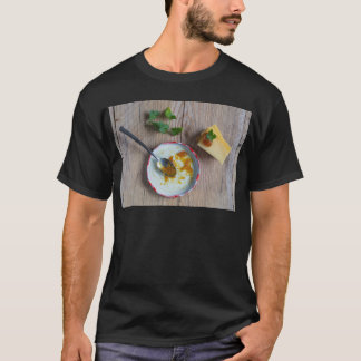 Onion pineapple chutney on rustic wood T-Shirt