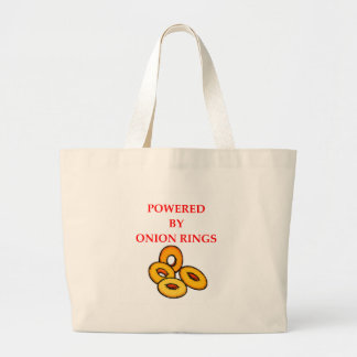 ONION RINGS LARGE TOTE BAG