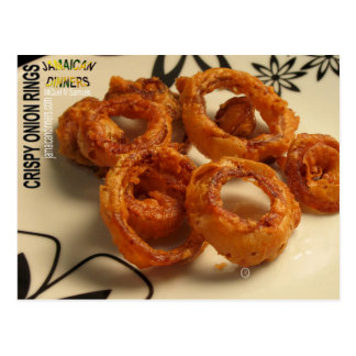Onion Rings, Postcard