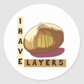 Onion - Sticker