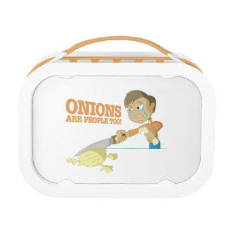 Onions Are People Too Lunchboxes