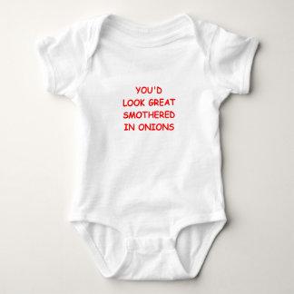 onions baby bodysuit