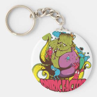 Oniric Factor Merchandising Basic Round Button Key Ring