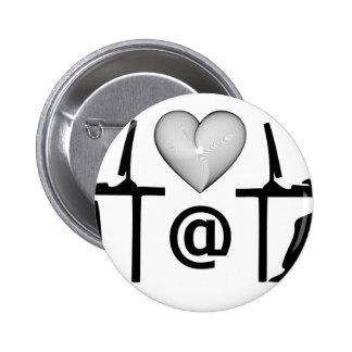 online dating 6 cm round badge