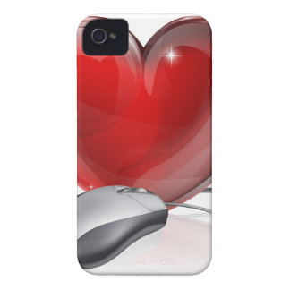 Online dating concept iPhone 4 cover