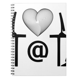 online dating spiral note book