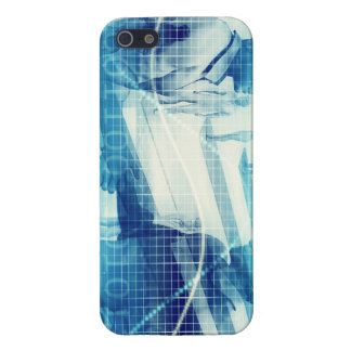 Online Meeting for Business with Men Shaking Hands Cover For iPhone 5/5S
