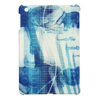 Online Meeting for Business with Men Shaking Hands iPad Mini Case