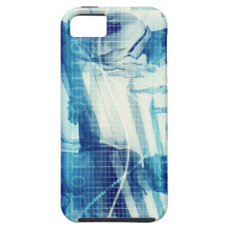 Online Meeting for Business with Men Shaking Hands Tough iPhone 5 Case
