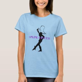 Online Princess by Jokeapptv tm T-Shirt