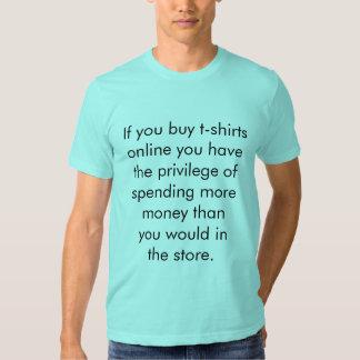 Online Shopping Shirt
