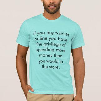 Online Shopping T-Shirt