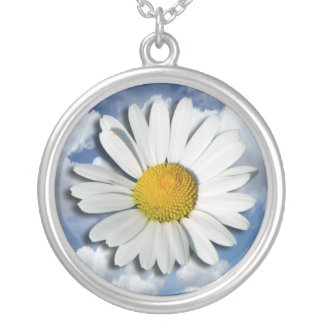 Only a Marguerite Blossom + your text & ideas Pendants