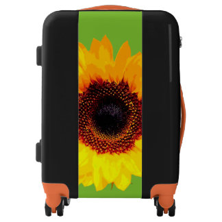 Only a Sunflower Blossom + your backgr. & ideas Luggage