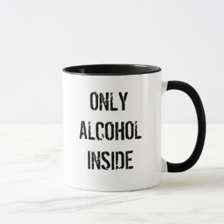 Only Alcohol Inside
