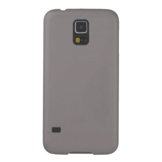 Only aluminum gray stylish solid color OSCB40 Galaxy S5 Cases