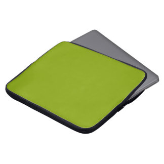 Only apple green cool rustic solid color OSCB43 Laptop Sleeve
