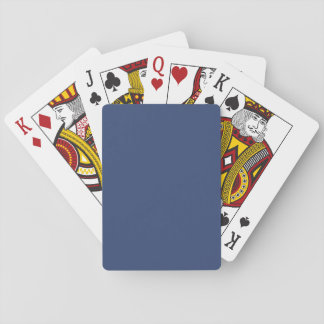 Only blue steel elegant classic playing cards