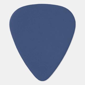 Only Blue steel solid color custom guitar picks Pick
