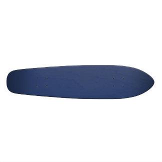 Only Blue steel solid color skateboards